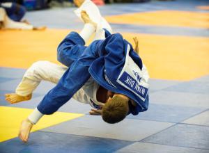 Mark van Dijk Nederlands kampioen judo.