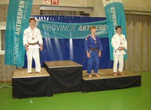 Rick Manders 3e op Antwerpen Open