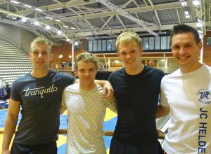 Mark van Dijk en Guus Manders geplaatst voor NK Judo