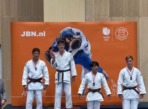 Zilver en Brons op NK-18 voor Judoclub Helden