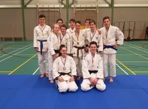 Tien judoka's plaatsen zich voor NK-18