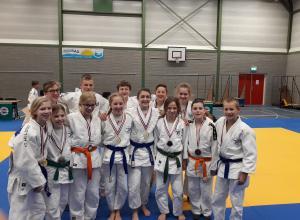 Vier Limburgse kampioenen -15 voor JC Helden!