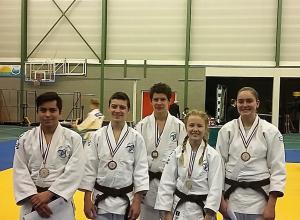 5 medailles voor JC Helden op het DK-18