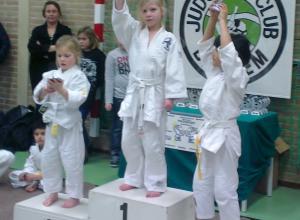 Judoclub Helden pakt wisseltrofee in Baexem